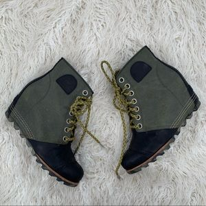 Sorel PDX Wedge Cattail Women's Boot Lace Size 7.5